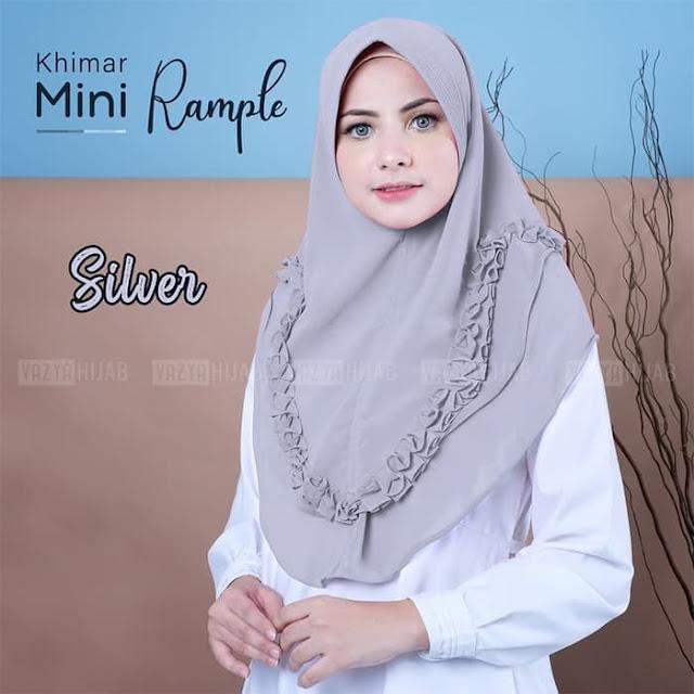 Jilbab Instan Terbaru Khimar Mini Rample