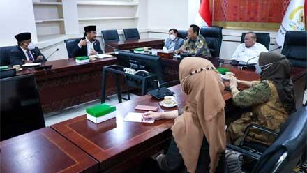 Rapat Bersama Badan Kehormatan DPD RI