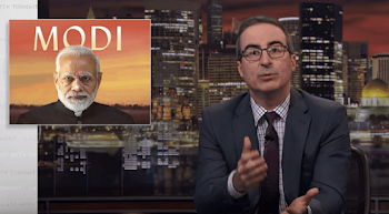 John Oliver's episode about Modi is not available on Indian streaming service