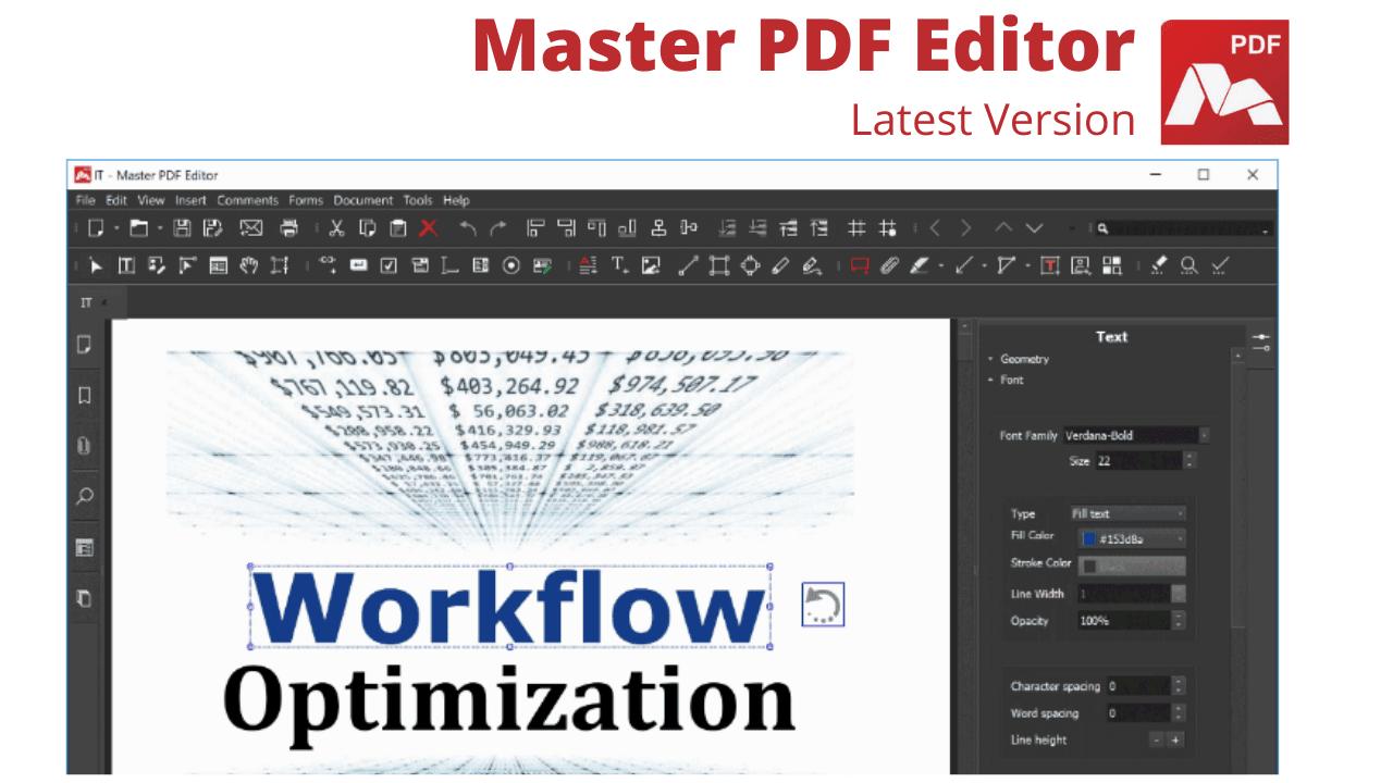 Master PDF Editor Download For Windows Latest Version