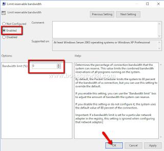 Panduan Cara Meningkatkan Koneksi Kecepatan Internet pada Windows