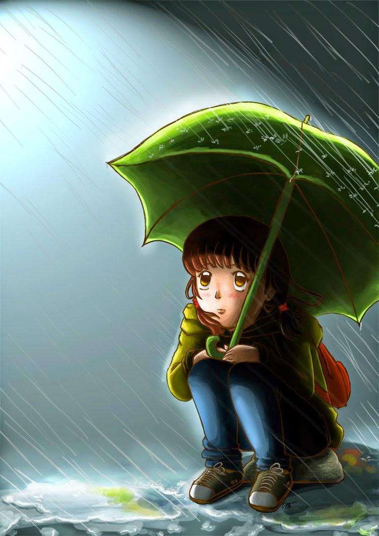 Gambar Musim Hujan | DP BBM Hujan - Muda-Mudi
