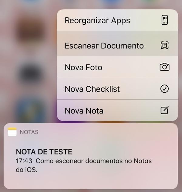 Como Utilizar o Notas do iPhone para Escanear Documentos