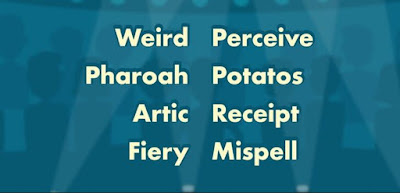 Q 13. Spelling test! How many words are spelled incorrectly?