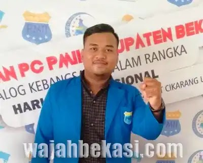 Mahasiswa Beri Raport Merah kepada Dinas ketenagakerjaan (Disnaker) Kabupaten Bekasi