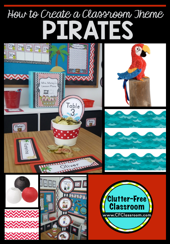 Classroom Ideas Printables ~ Pirate themed classroom ideas printable