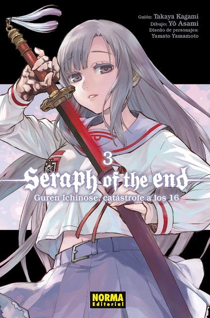 Reseña de Seraph of the End: Guren Ichinose Catastrofe a los dieciséis vol.3, de Kagami, Asami y Yô.