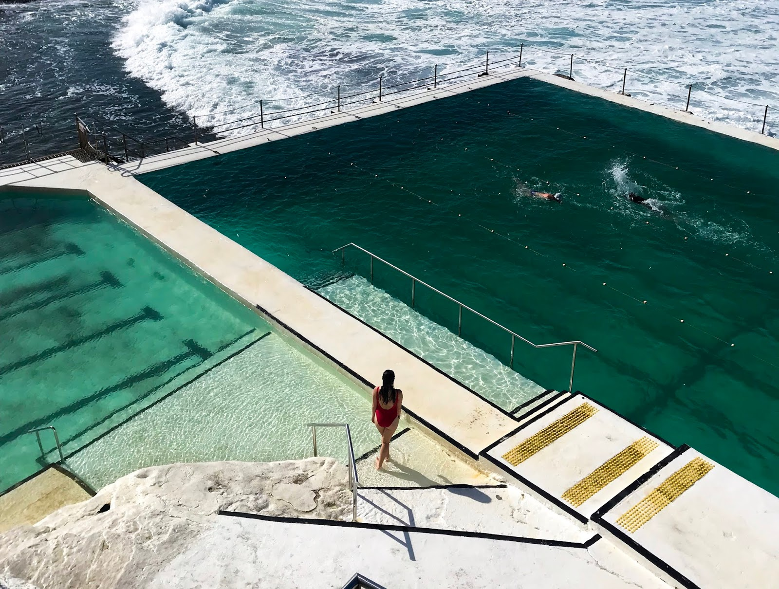 swimming pool at Bondi Beach