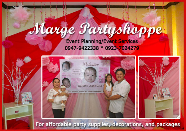 baby christenings ideas bacolod- baby christening decors - Bacolod party supplier