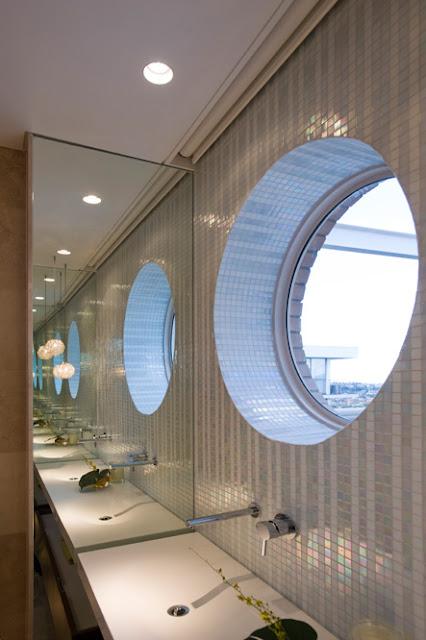Small Round Windows: Minosa: A Modern Bathroom Design By Minosa