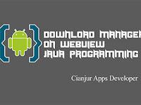 Penggunaan DownloadManager pada Webview