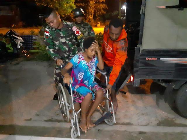 Jam 3 Pagi, Satgas Pamtas Bantu Proses Persalinan di Tapal Batas