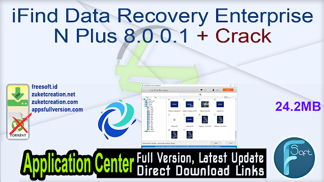 iFind Data Recovery Enterprise N Plus 8.0.0.1 + Crack
