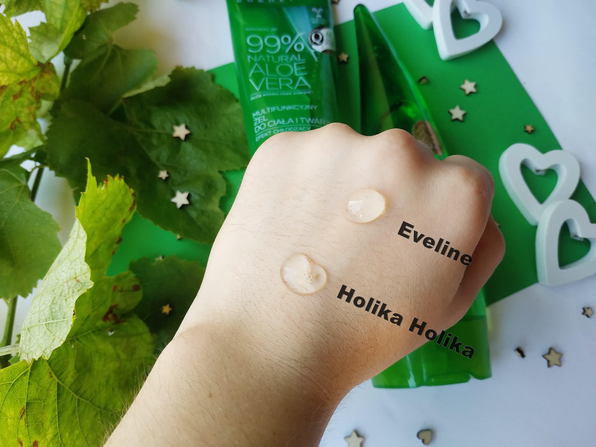Cena wchłanianie i konsystencja który lepszy Eveline czy Holika Holika?
