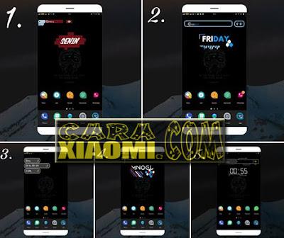 5 Template Zooper Widget Pro ZW Keren Cocok Untuk Tema Simple
