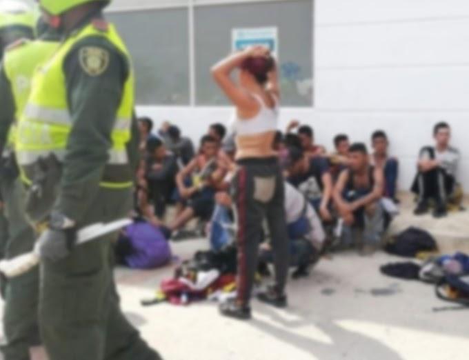 Hinchas del DEPORTES TOLIMA estarían involucrados en riña que dejó un herido con arma blanca en Santa Marta
