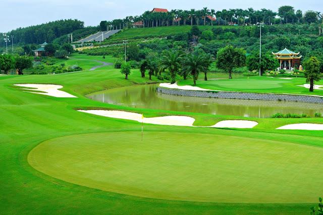 Sân Golf Mini tại Ohara Villa Hòa Bình