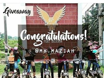 Instagram: Menang Giveaway by @cervellotres_nsembilan.melaka