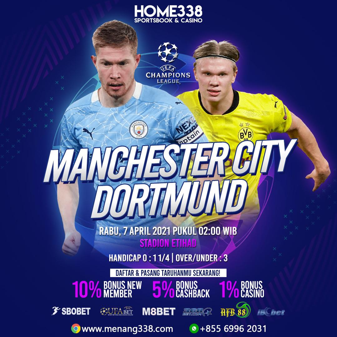Prediksi Manchester City vs Borussia Dortmund