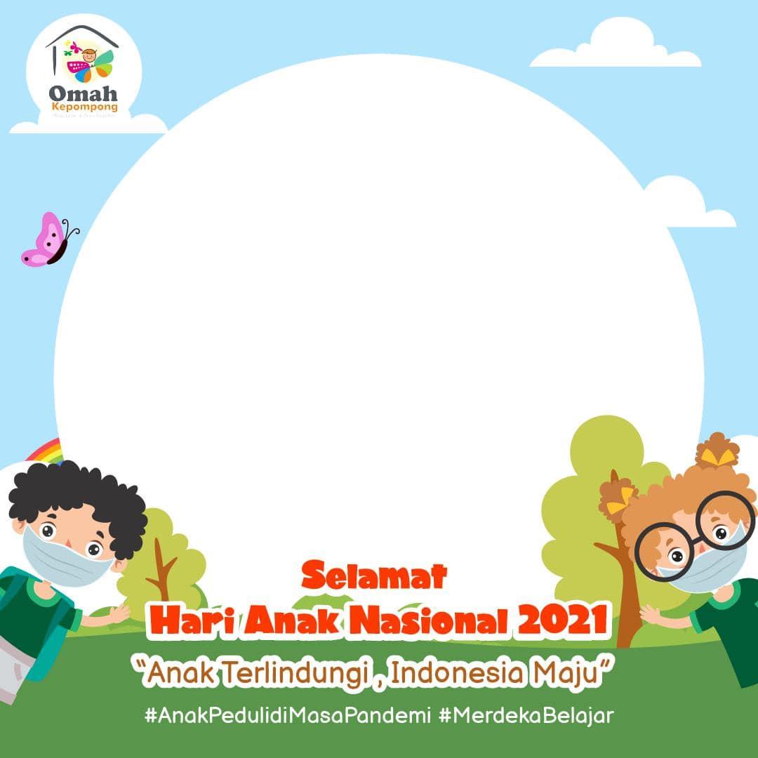 Link Template Bingkai Twibbon HAN 2021 (Hari Anak Nasional)