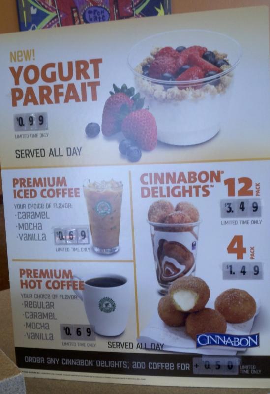 News: Taco Bell Tests Oatmeal and Yogurt Parfaits | Brand ...  Taco