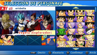 NUEVO!! ISO DBZ TTT MOD CON MENÚ PERMANENTE [FOR ANDROID Y PC PPSSPP]+DOWNLOAD/DESCARGA DBZ,DBS,DBH