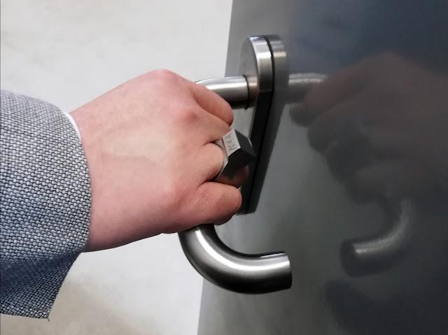 3D-printed smart ring