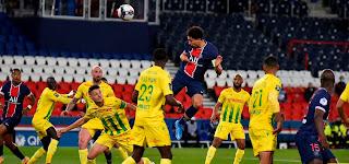 ملخص واهداف مباراة باريس سان جيرمان ونانت (1-2) الدوري الفرنسي