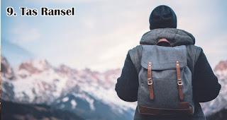 Tas Ransel merupakan salah satu ide hadiah yang tepat untuk petualang outdoor