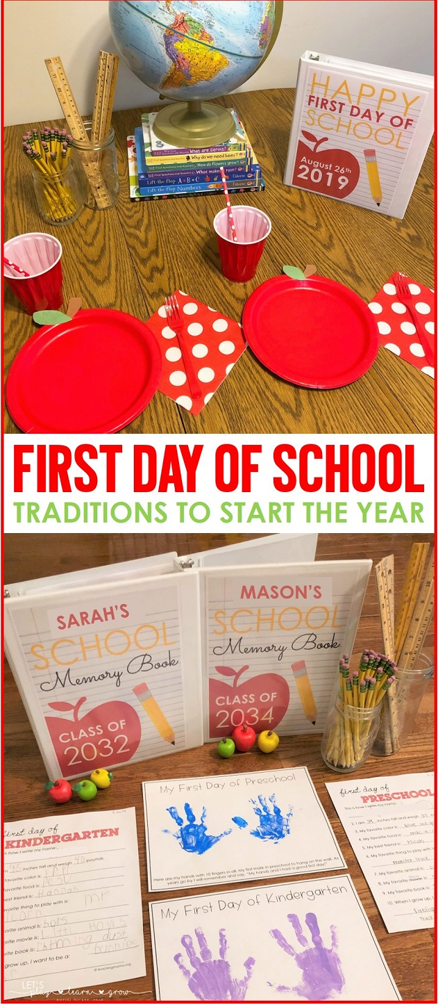 Celebrate the First day of school with these fun traditions.