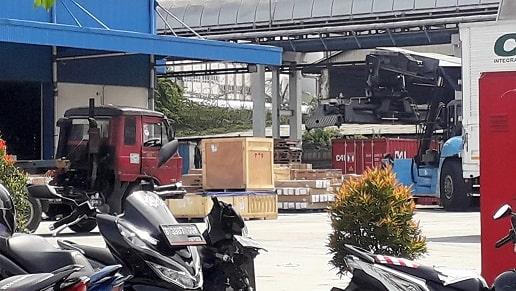 Undername Import LCL Catgo China Indonesia