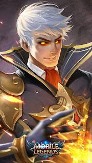 Alucard Fiery Inferno Heroes Fighter Assassin of Skins Season 2 V3