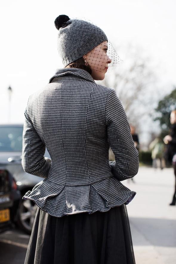 Redecillas en tocados, sombreros y diademas street style