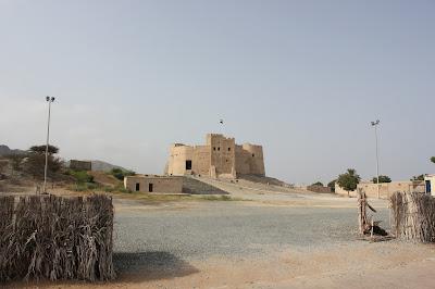 منظر عام لقلعة الفجيرة
