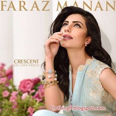 80688ae42b Finally, another most awaited lawn catalog has been announced. Yes! It is Faraz  Manan Crescent Eid Lawn Prints 2015. Lawn extravaganza is raising day by  day ...