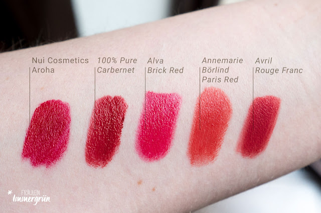 Nui Cosmetics Natural Lipstick Aroha