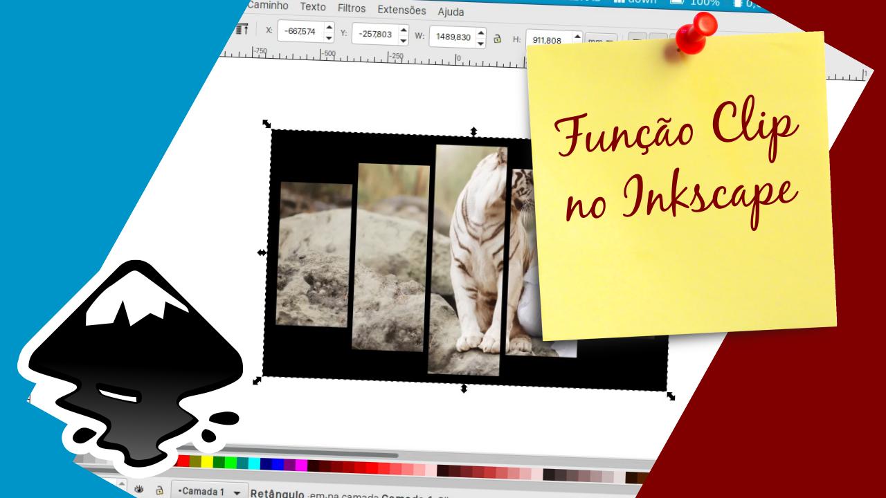 Usando a função clip no Inkscape