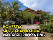 Homestay Singgahan Rahmat Pantai Morib Banting 'Friendly' Penginap