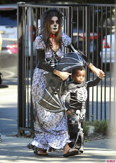 Sandra Bullock attended her son's Halloween School Party