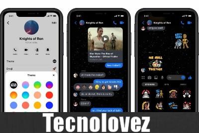 Facebook Messenger - Ecco come attivare i temi di Star Wars