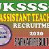 Uttarakhand UKSSSC LT Grade Assistant Teacher Online Form 2020.