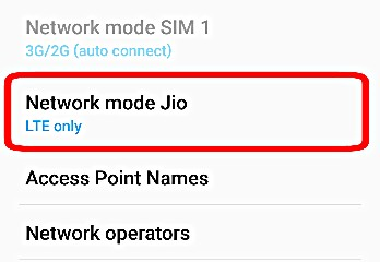 Choose Right Network Mode