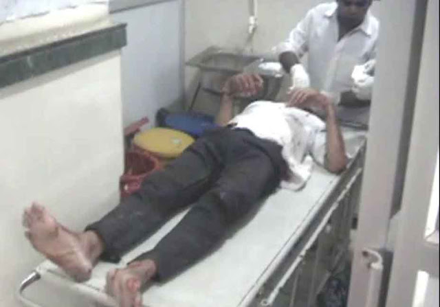 road-accident-near-badkhal-metro-station-faridabad-old-two-injured