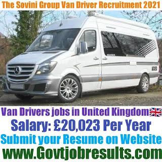 The Sovini Group Van Driver Recruitment 2021-22