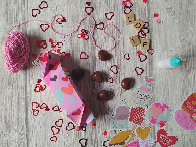 Tuto scrapbooking candy box