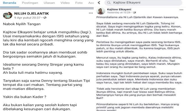 Sesama pendukung Jokowi Ribut, Warganet: Jangan Dipisahin!