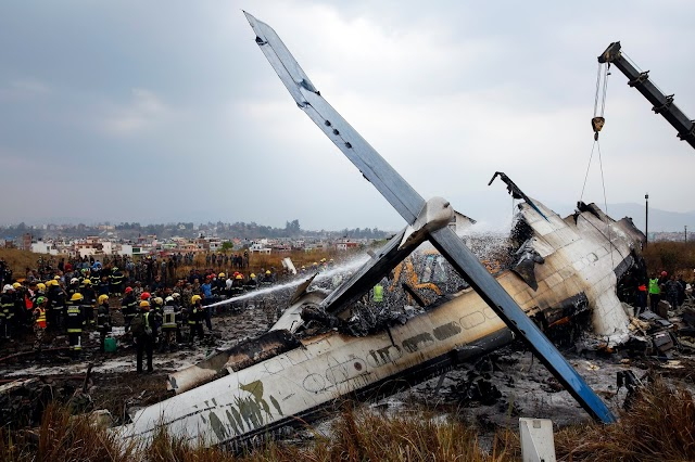 Kathmandu plane crash kills at least 40