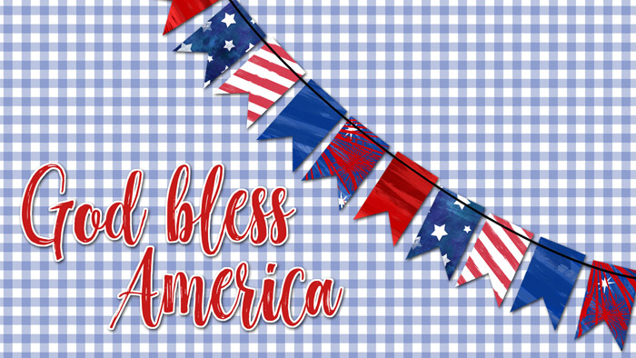 God Bless America Desktop Wallpaper