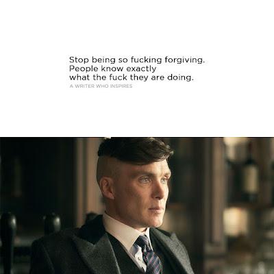 stop forgiving