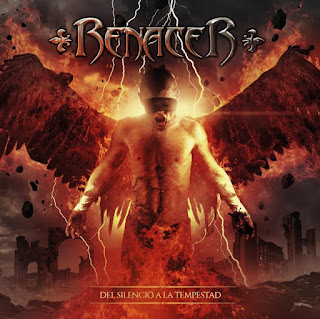 "Renacer - Ídolos de Cartón (lyric video) from the album ""Del silencio a la tempestad"""